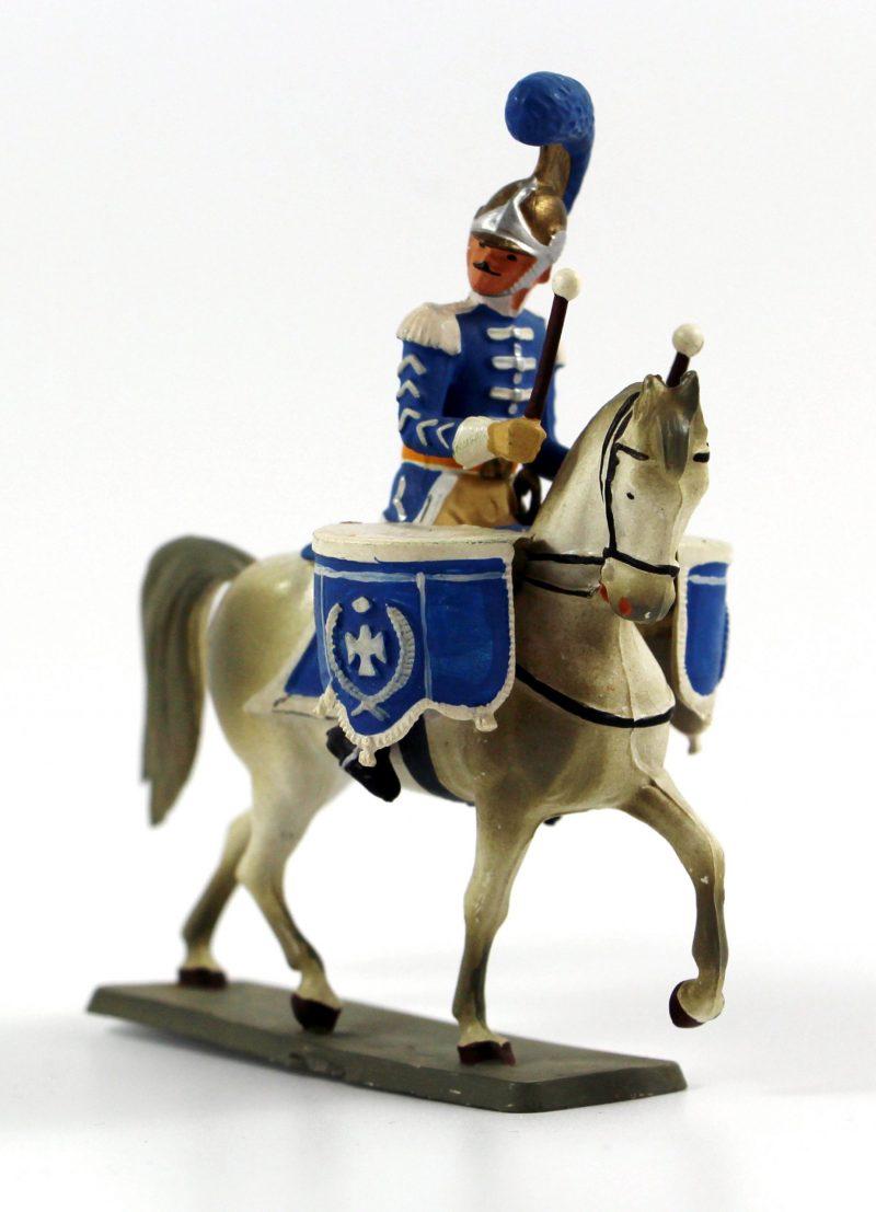 Figurine Starlux 1er Empire - Timbalier Carabinier - Trompette - Musicien- Plastique