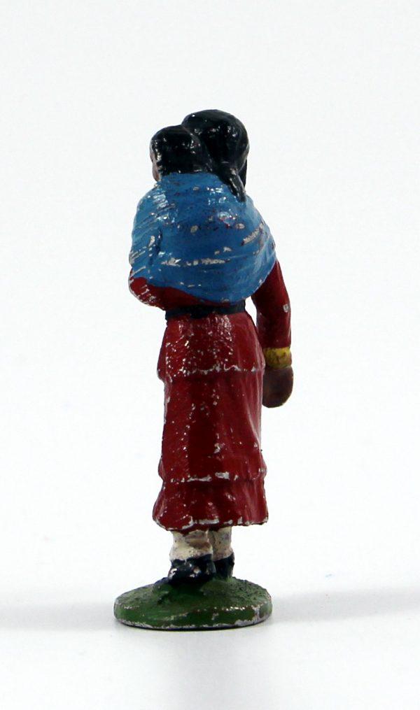 Figurine Quiralu ancienne Indienne Enfant Plaines Américaines