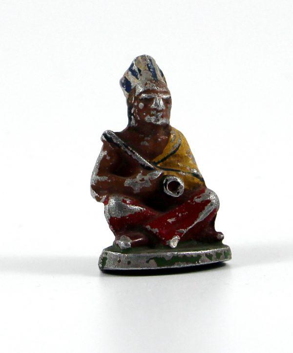Figurine Quiralu ancienne Indien Plume