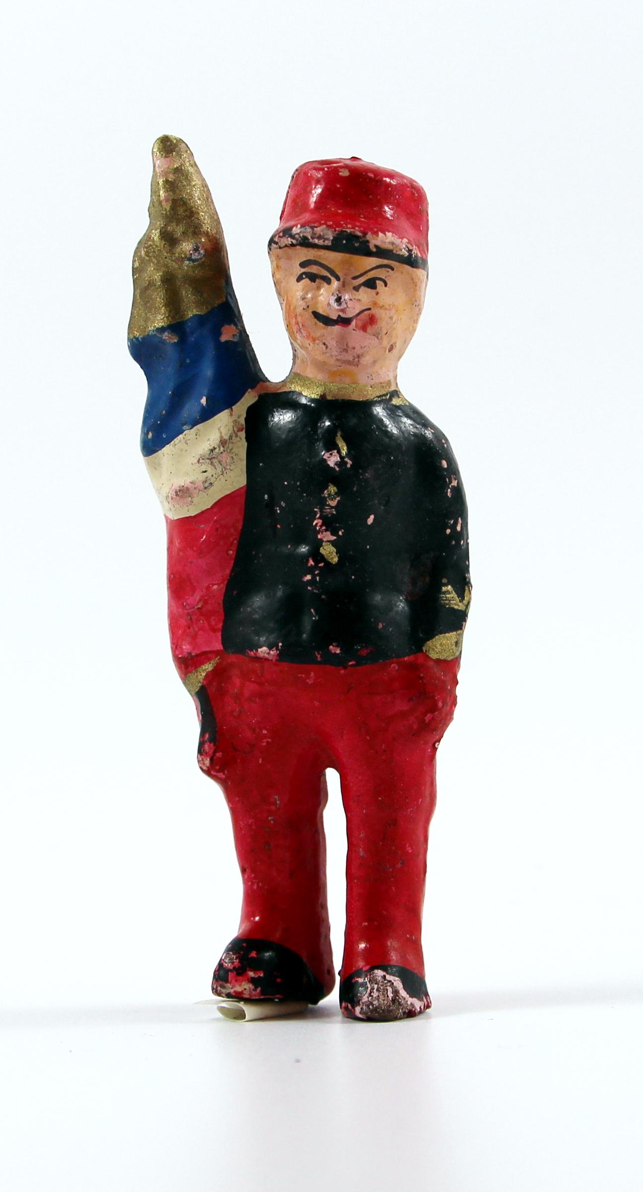 Ancienne Figurine Bon Dufour en composition - Infanterie - Soldats - Uniforme - 3ème République