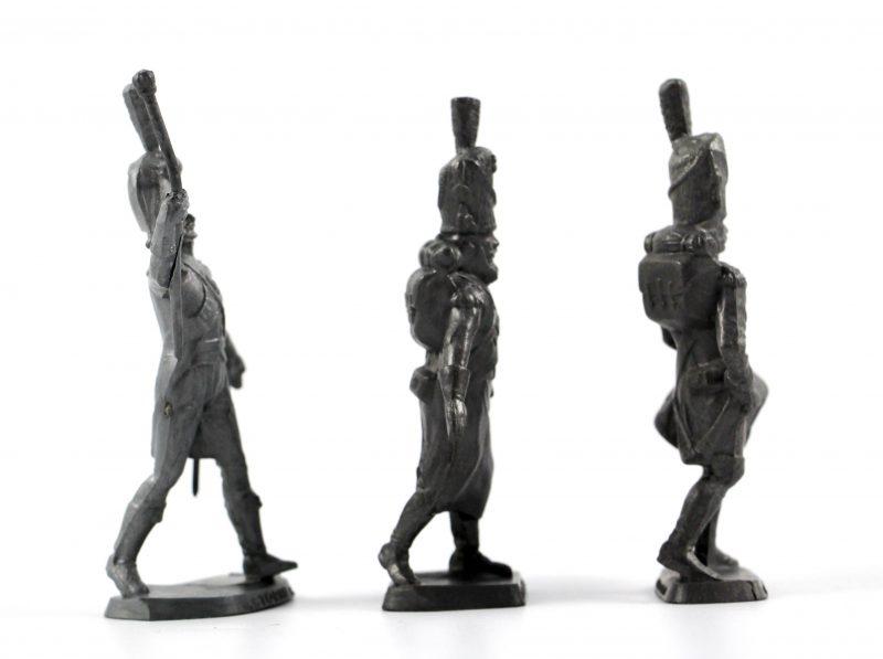 3 figurines STORME Café - Bon état - Grenadier Garde 1er Empire.