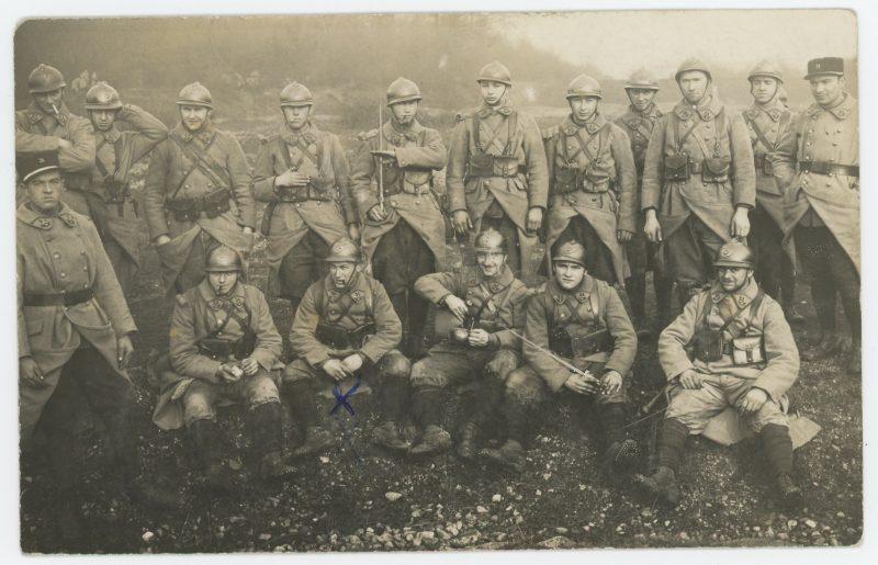 Carte Ancienne Photographie - 31 régiment de Chasseur - Unité 1939 - Alsacien - Uniforme - Drôle de Guerre - Guerre 39/45