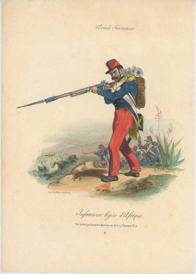 Infanterie légère d'Afrique