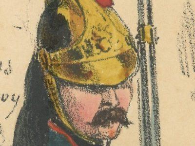Gravure XIX - Martinet - L'armée française - Uniforme -Soldat - Monarchie de Juillet - 1830 et 1848 - Dragons à Cheval