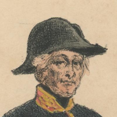 Gravure XIX - Martinet - L'armée française - Uniforme -Soldat - Monarchie de Juillet - 1830 et 1848 - Médecin et Pharmacien