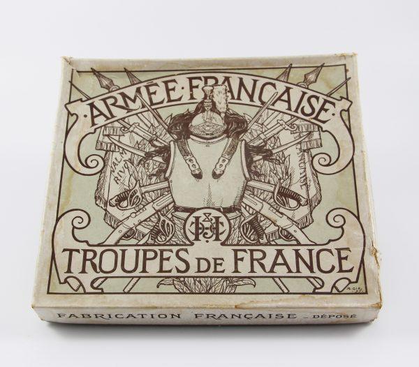 Figurines Dépliant Armée Française Cuirassiers et Chasseurs à Pied 3ème République XIX