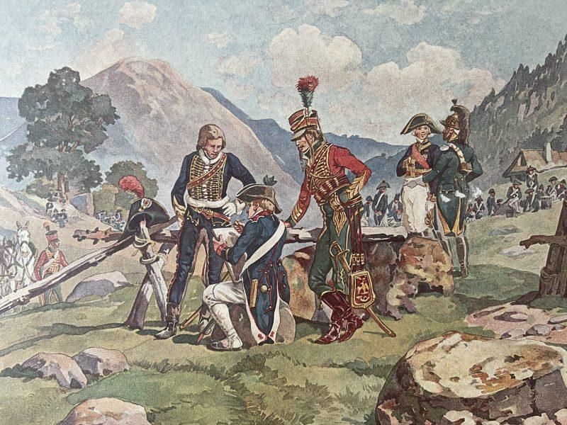 Calendrier 1905 - 1805 - Henri Ganier Tanconville - L'armée d'Autriche - Benjamin Zix - Strasbourg - Vosges