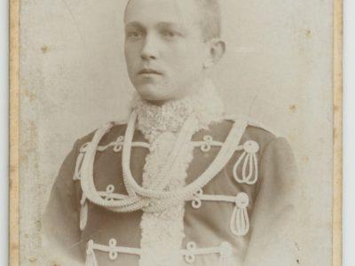 Carte CDV photo Portrait Soldat Allemand Cavalerie Hussard Régiment N°3 Rathenow Brandenburg Von Zieten