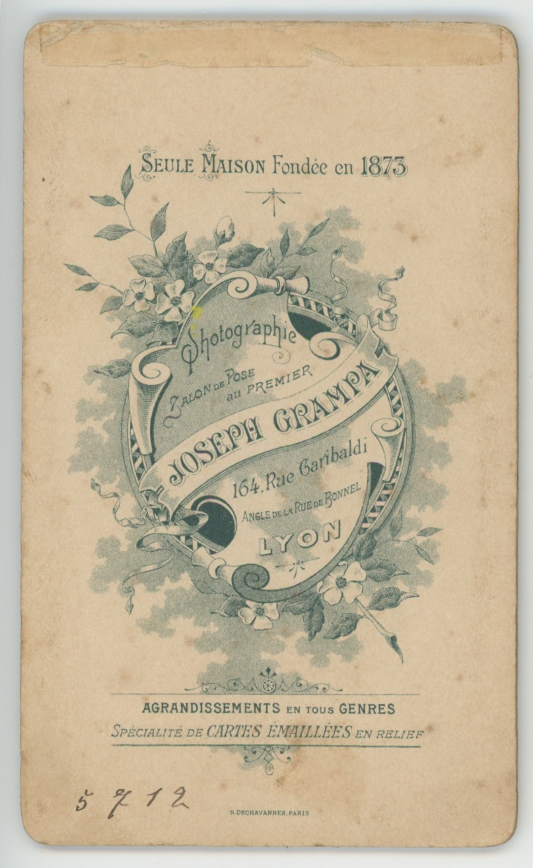 CDV - Ancienne Photographie - 3ème République - 7ème Cuirassier - Casque - Cuirasse - Lyon - Capote