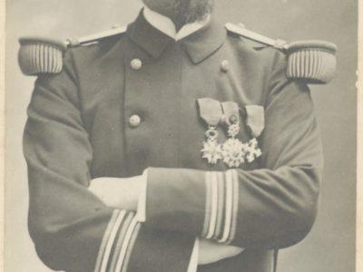 Photographie Officier de la Marine - Soldat - Français - Début 20e - 1900 - Uniforme de la Marine Française - Photographe Paris
