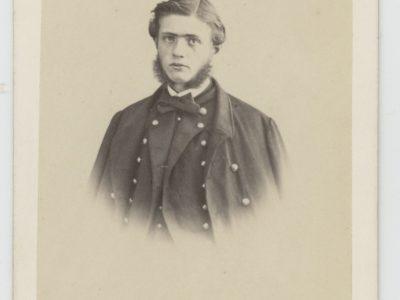 4 CDV - Anciennes Photographies - Second Empire - Uniforme Marine Française - Portraits Brest Port - Marins - Officiers - Napoleon III