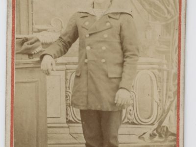 10 CDV - Anciennes Photographies - Second Empire - Uniforme Marine Française - Portraits Marseille Port - Marins - Mousses - Napoleon III