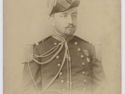 Grande CDV - Officier de la Marine - Soldat - Français - Baron Marie Joseph Maximilien de REINACH de WERTH - 1892 - Lieutenant de Vaisseau en 1892
